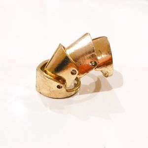 Gold armor ring size 7